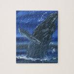 Violación de la ballena jorobada puzzles