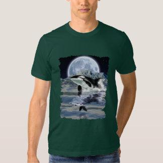 VIOLACIÓN de la camiseta de la ORCA, del CUERVO y Poleras