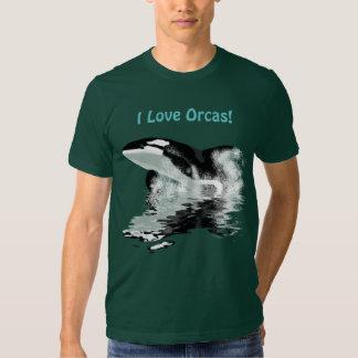 VIOLACIÓN de la camiseta de la ORCA Polera