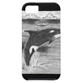 Violación de la orca iPhone 5 fundas
