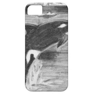 Violación de la orca funda para iPhone 5 barely there