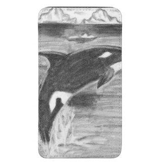 Violación de la orca funda acolchada para galaxy s5