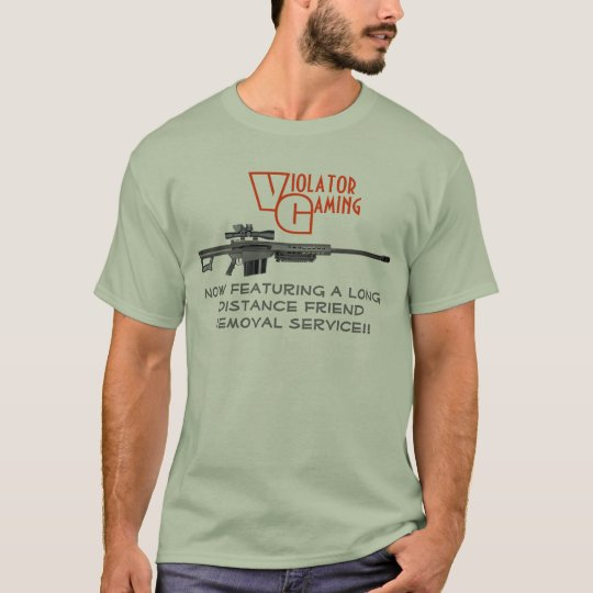 Violator Gaming - Friend Removal Service T-Shirt