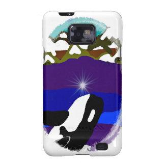 Viole a las montañas la orca samsung galaxy SII funda