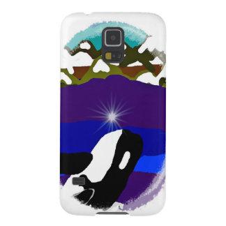 Viole a las montañas la orca funda de galaxy s5