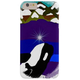 Viole a las montañas la orca funda para iPhone 6 plus barely there
