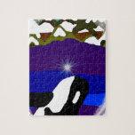 Viole a las montañas la orca rompecabezas
