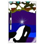 Viole a las montañas la orca tableros blancos