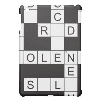 Violence Crossword iPad Case