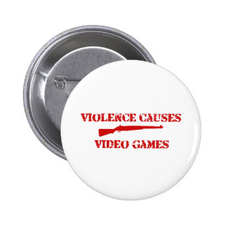 Violence Red Pin