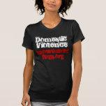 Violencia en el hogar, knowtheredflags.org camisetas