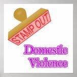 Violencia en el hogar poster