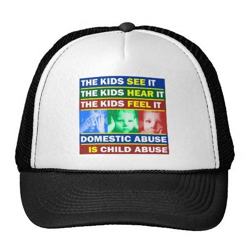 Violencia familiar gorras