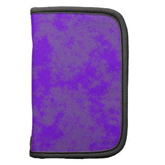 Violet1 Soft Grunge Design Folio Planner