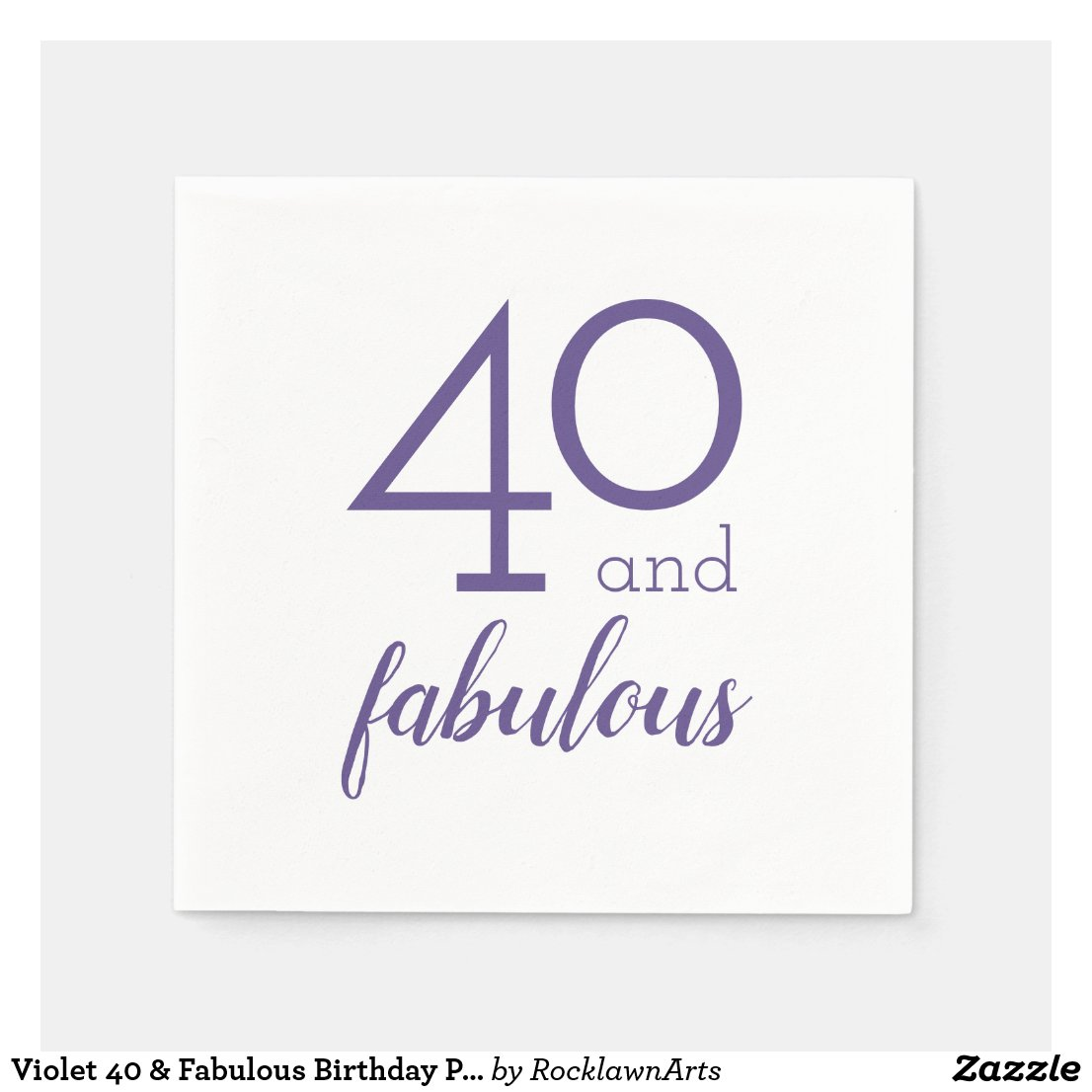 40 and Fabulous Party Supplies and Gifts