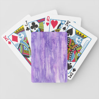 Violet 8 bicycle playing cards