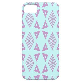 violet Abstract diamond design Case
