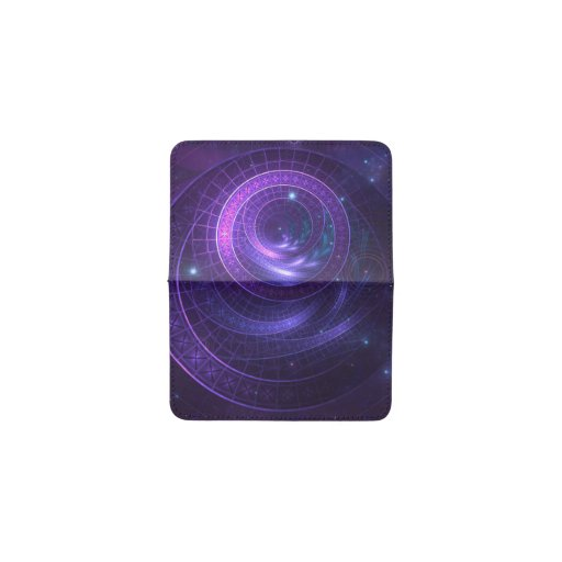 Violet and Blue Geometry of a Celestial Wormhole Card Holder