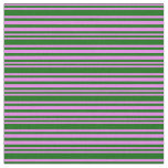 [ Thumbnail: Violet and Dark Green Colored Pattern Fabric ]