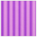 [ Thumbnail: Violet and Dark Violet Pattern Fabric ]