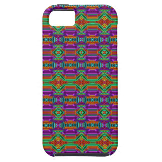 Violet And Green Grid Pattern. Elegant Design iPhone 5 Covers