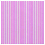 [ Thumbnail: Violet and Lavender Colored Stripes/Lines Pattern Fabric ]