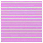 [ Thumbnail: Violet and Light Yellow Pattern Fabric ]