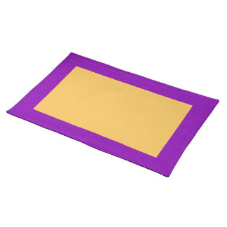 Violet and Marigold Placemat