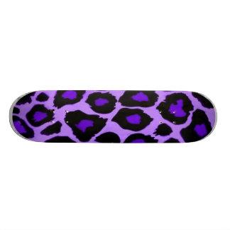 violet animal skateboard deck