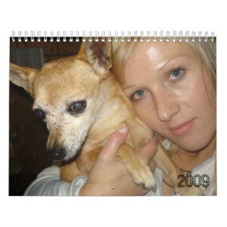 violet anne-marie, 2009 calendar