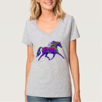 Violet Arabian horse shirt