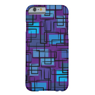 Violet&blue 70 ' s barely there iPhone 6 case