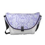 Violet Blue Baroque Lace Rickshaw Messenger Bag