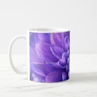 Violet Blue Chrysanthemum Bloom Coffee Mug