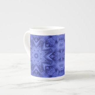 Violet Blue Frost Bone China Mug Tea Cup