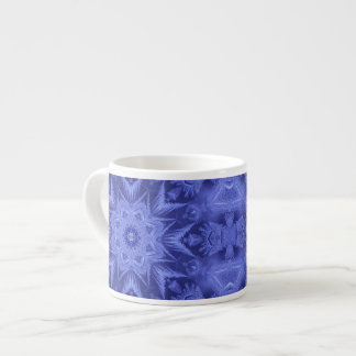 Violet Blue Frost Espresso Cup