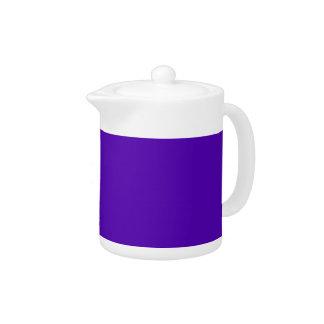 VIOLET BLUE  (solid color) ~ Teapot