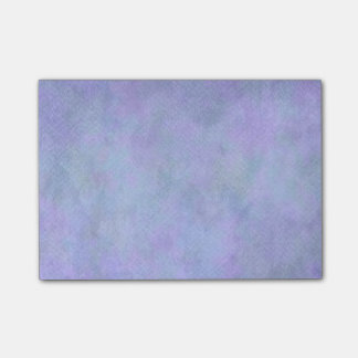 Violet Blue Watercolor Paper Background Template Post-it Notes