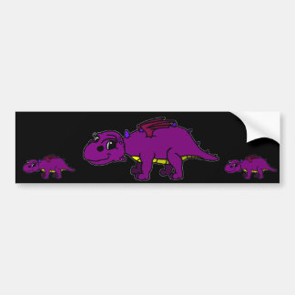 Violet Bumper Sticker