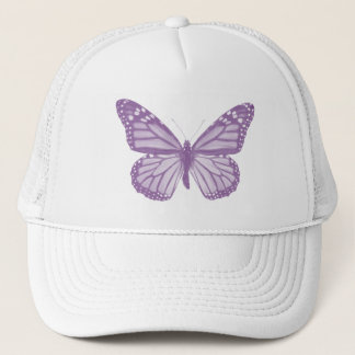 Violet Butterfly Hat
