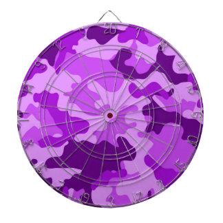 Violet Camo Dartboard