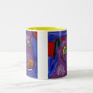 VIOLET Cup O Sunshine Coffee Mug