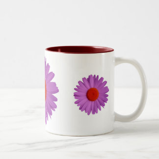 violet daisy mug