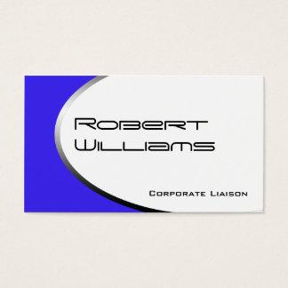 Violet Ellipse Modern Professional Business Cards