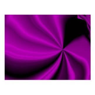 Violet Enigma Purple Satin Cloth Look Postcard