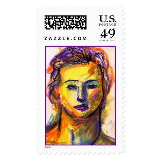 Violet Eyes Stamp