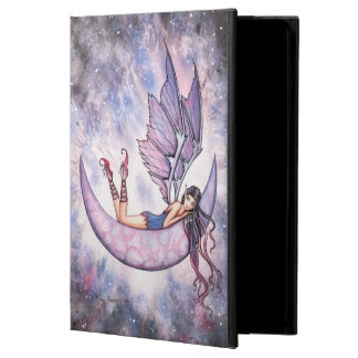 Violet Fairy on Moon Fantasy Art Case For iPad Air