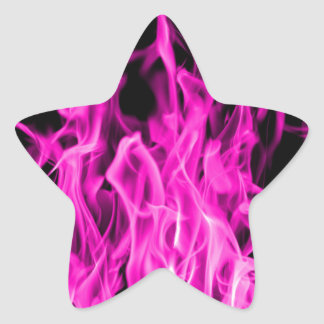 Violet flame and violet fire gifts from St Germain Star Sticker