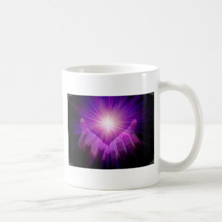 violet flame coffee mug