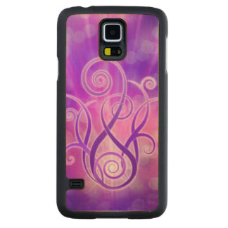 Violet Flame Design + your ideas Carved® Maple Galaxy S5 Case